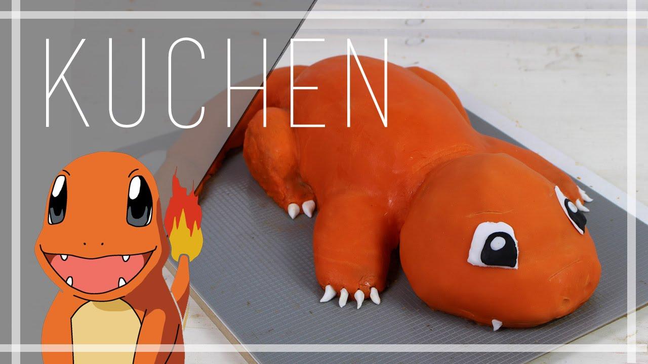 Ich Backe Mir Ein Glumanda Glumanda Pokemon Kuchen Youtube