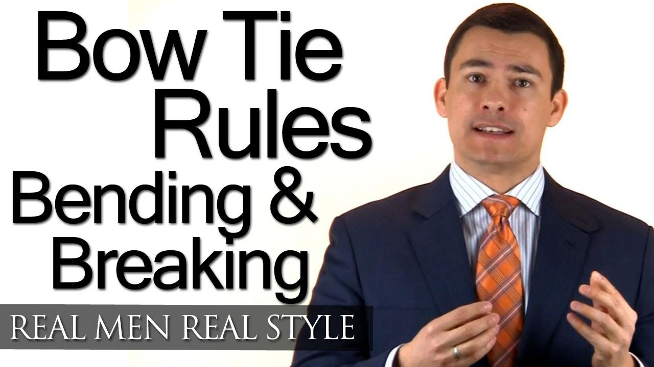 Black Tie Bow Tie Rules Understand How To Bend And Break Style