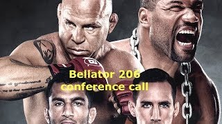 MacDonald vs Mousasi, Rampage vs Silva 4 Conference Call