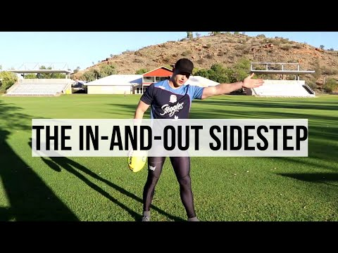 Rugby Skills Tutorial | How to do an In-And-Out Sidestep.