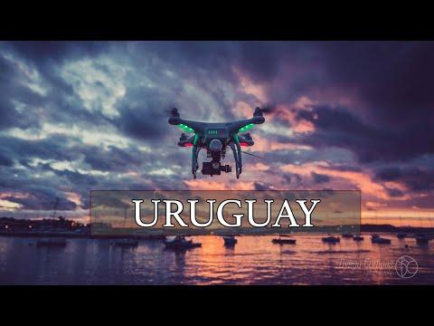 El sur de Uruguay desde el aire ( 4K Video )