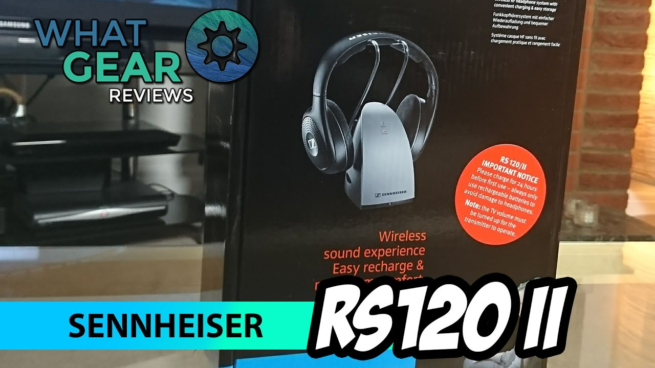 aa7299a628c Sennheiser RS120 II : the best headphones for TV listening - YouTube