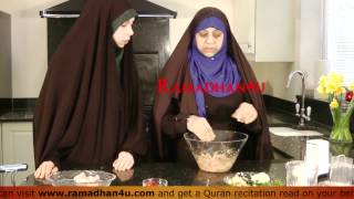 How to make Chicken Kebabs (quick easy) with an aunty