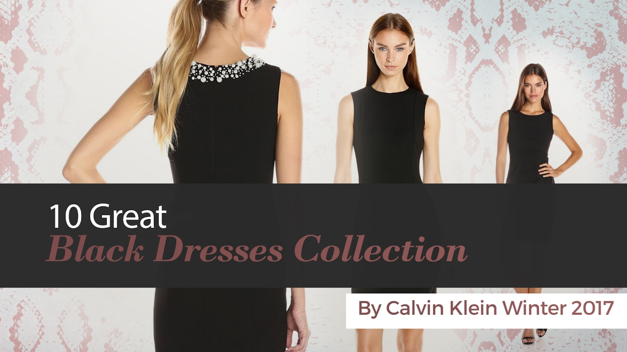Calvin Klein Winter Dresses