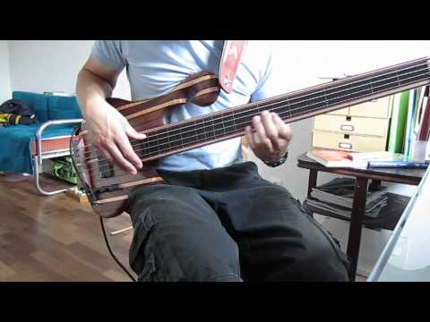 Star Wars Cantina Song Bass Cover