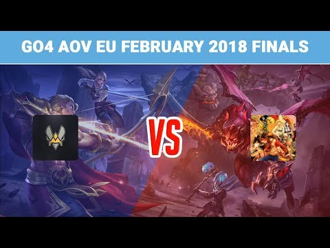 Highlights: Team Vitality vs For the Dream | Go4 Arena of Valor EU February 2018 Finals
