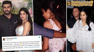 Arjun Kapoor Is A Dotting Brother, Supports Jhanvi Kapoor | Siblings of Bollywood