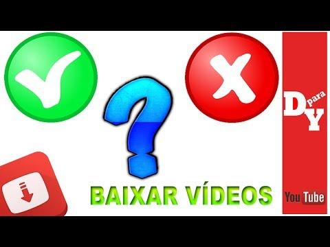 Será que é proibido baixar vídeos do YouTube???