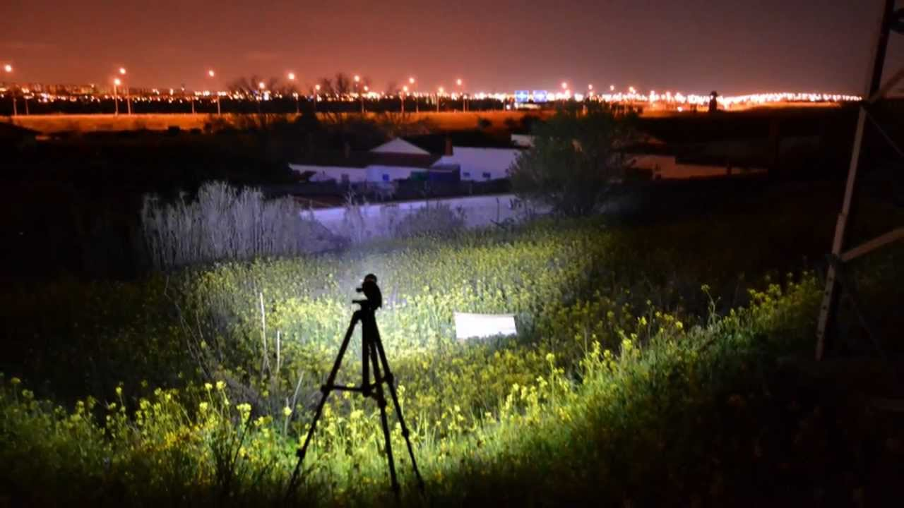 Linterna 1600 lumenes 2 in 1 con zoom for Linterna de led potente