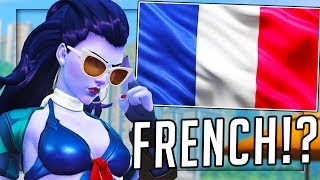 PLAYING OVERWATCH IN FRENCH AND JAPANESE!?