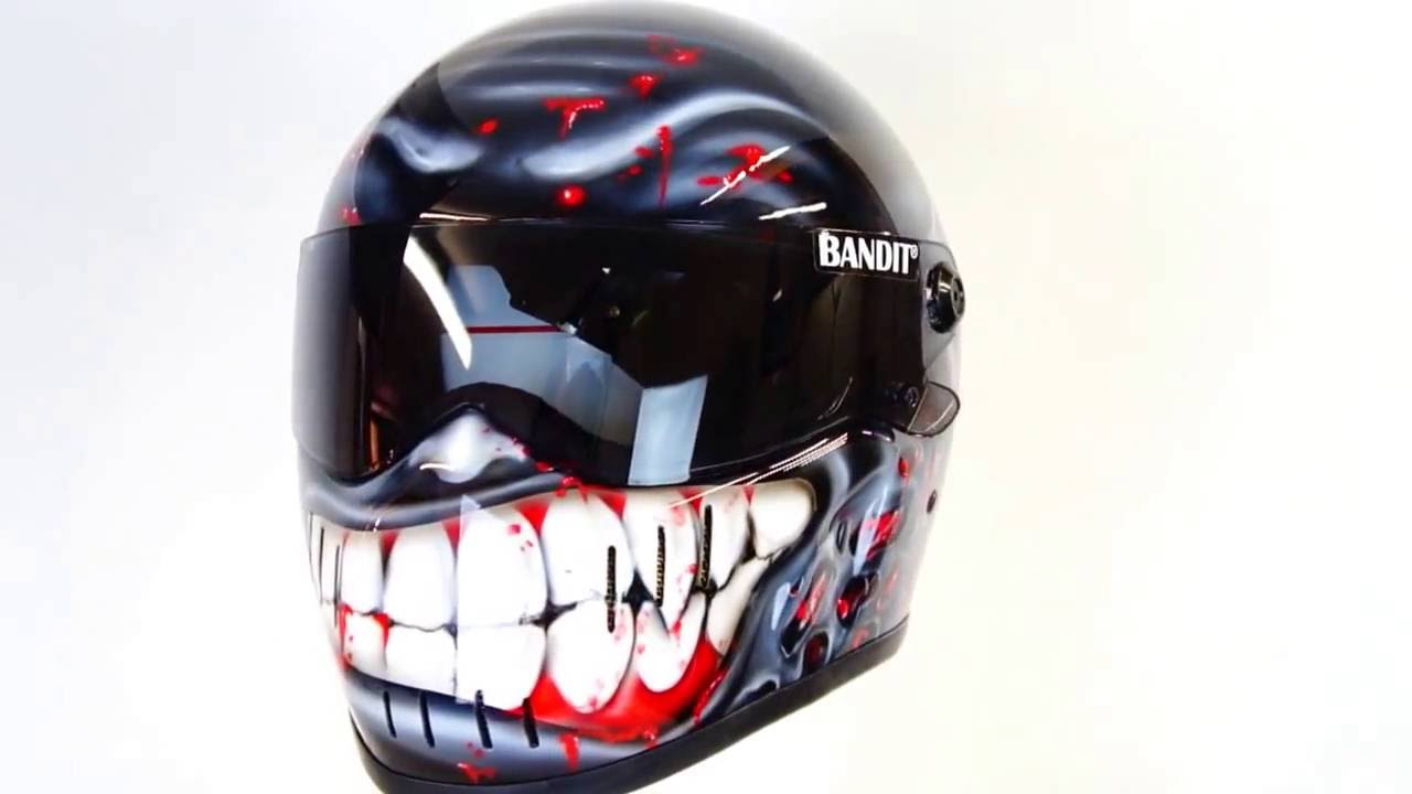 Bandit Xxr Streetfighter Custom Airbrushed Motorcycle