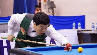 Nguyễn Quốc Nguyện vs Kang Dong Koong   Asian Carom 3C Championship