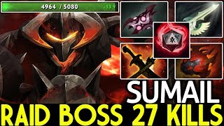 SUMAIL [Chaos Knight] Raid Boss 27 Kills Hard Practice New Role 7.22 Dota 2