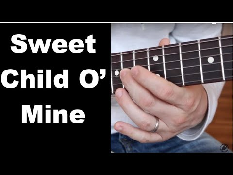 Sweet Child O' Mine Guitar Lesson