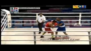 69kg: Marvin CABRERA (MEX) vs Roniel IGLESIAS (CUB) - Premundial Boxeo 2015