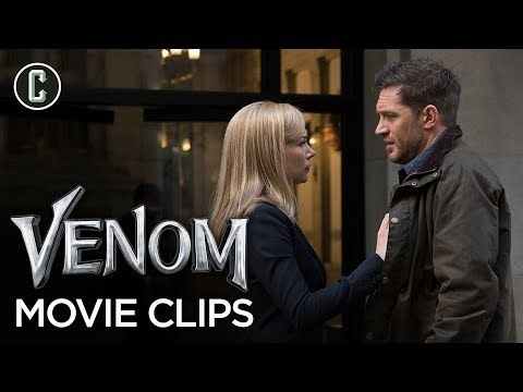 New 'Venom' Clips Show Off Tom Hardy's Range and a Conflicted Eddie Brock