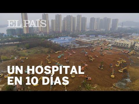 China Construye Un HOSPITAL DE URGENCIA Contra El CORONAVIRUS