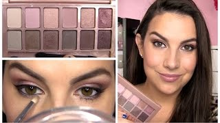 Maybelline The Blushed Nudes Palette Review