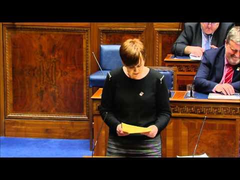 M O Muilleoir   Colaiste Dhoire debate1 26 01 15