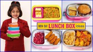 MONDAY To SATURDAY Kids LUNCH BOX Recipes  #Snacks #Winter #Anaysa #CookWithNisha