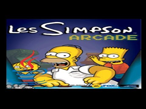 The Simpsons Arcade - Mobile Java Gameplay