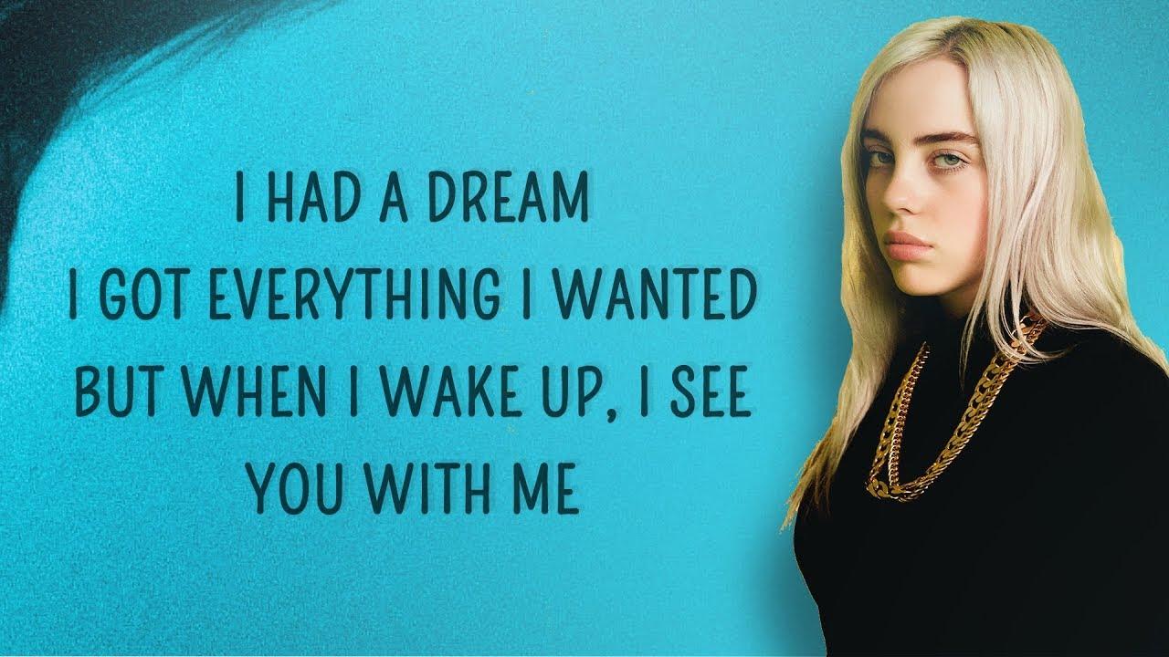 Lyrics Billie Eilish