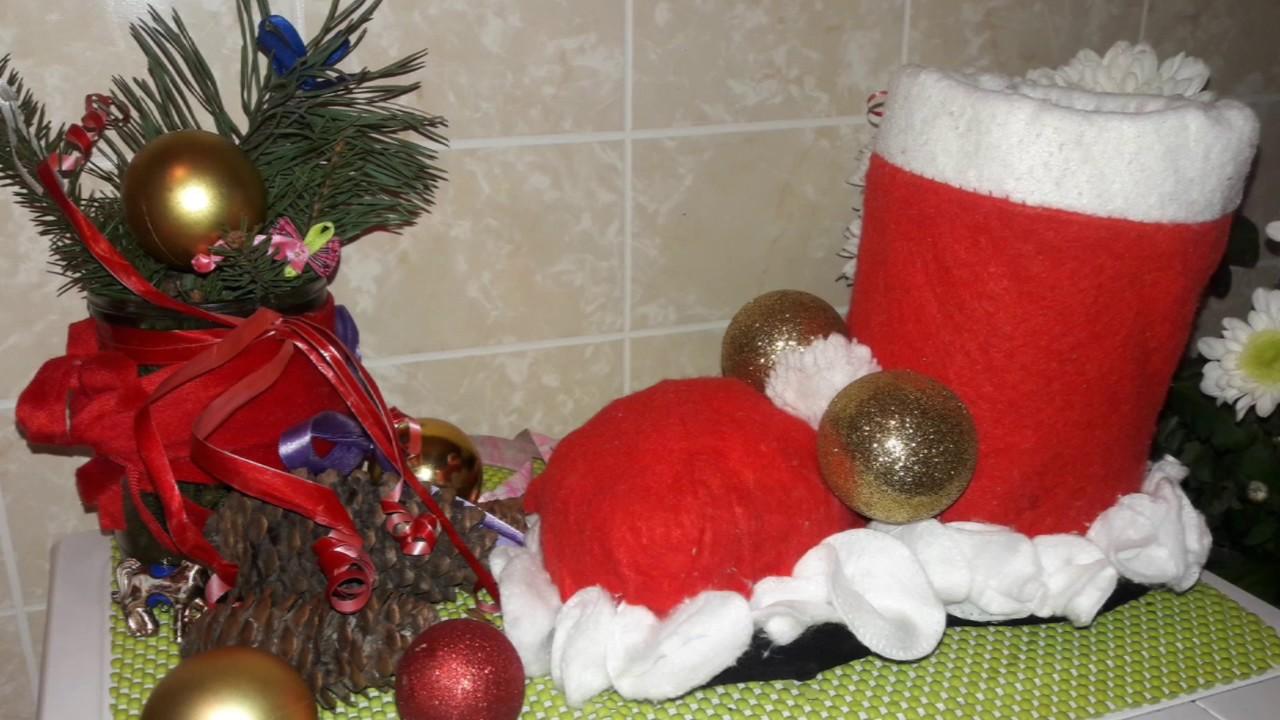 Сапожок для подарков своими руками фото 258