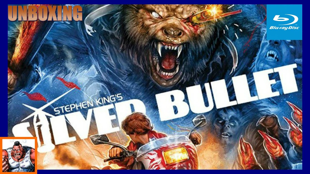 Download Silver Bullet Scream Factory Collector's Edition Exclusive Poster Blu Ray Unboxing