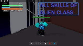 Roblox - Project: OPM all skills of alien class