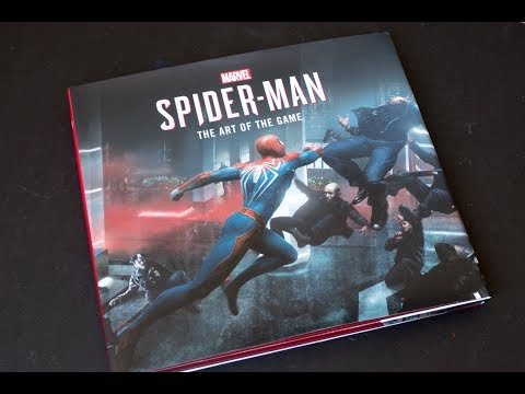 (book-flip)-marvel's-spider-man:-the-art-of-the-game