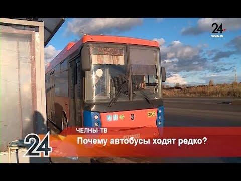 Почему автобусы ходят редко?
