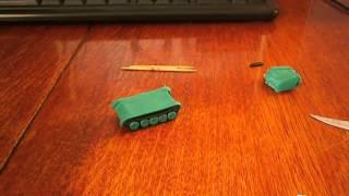 Кому то нужен урок как слепить танк?