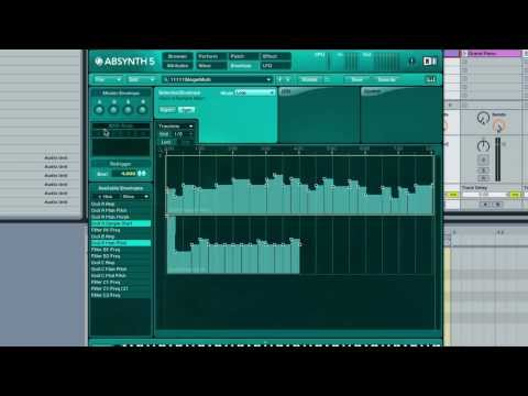 Absynth 5 - Make Awesome Sample and Hold Style loops - How To Tutorial
