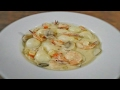 Creamy Shrimp with Quail Egg and Mushroom Recipe   Food Bae