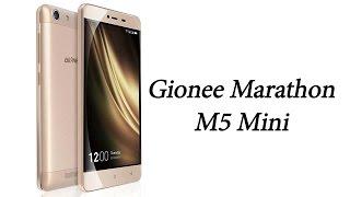 Gionee Launches Marathon M5 Mini With 4,000 mAh Battery