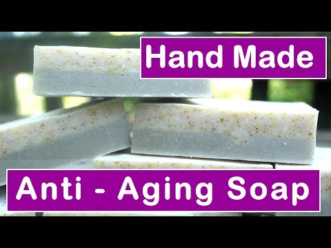 Home Made Anti-Aging Soap Facial Bar 🥑🌾 w Natural Ingredients
