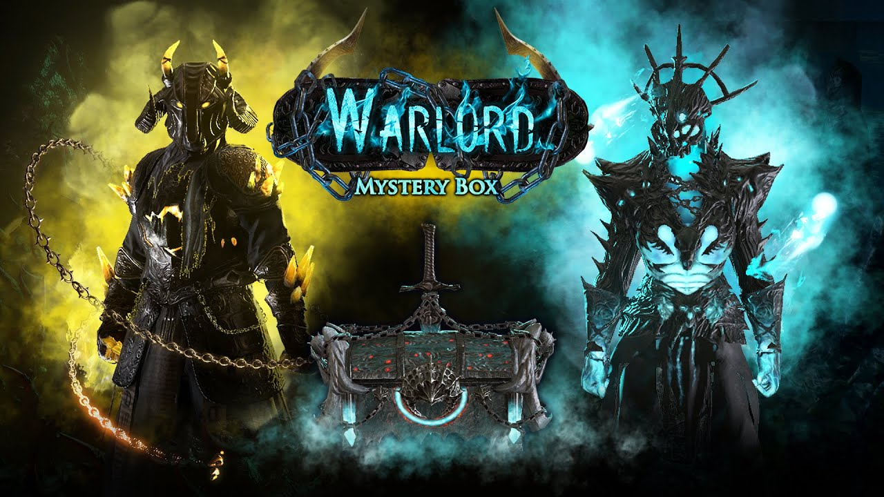 What's in the Warlord Mystery Box?