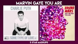 Marvin Gaye vs Just The Way You Are (Charlie Puth, Meghan, Bruno Mars) MIXED MASHUP