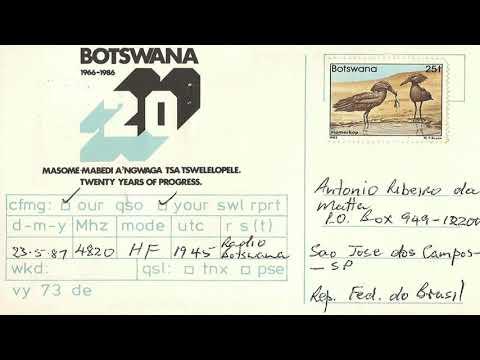 Radio Botswana 531 kHz - Gaborone (Botswana) - 2018