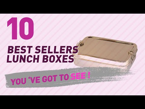 Lunch Boxes For School Girls // New & Popular 2017