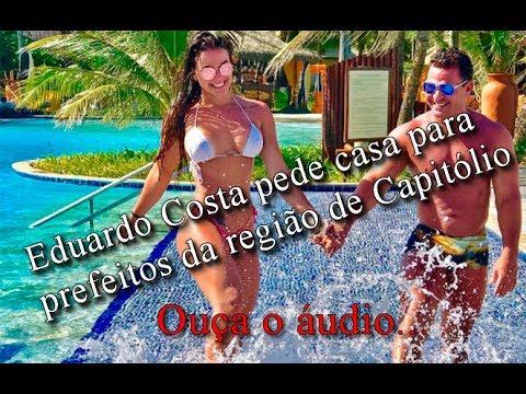 Eduardo Costa pede casa em Escarpas para prefeitos da Região de Capitólio