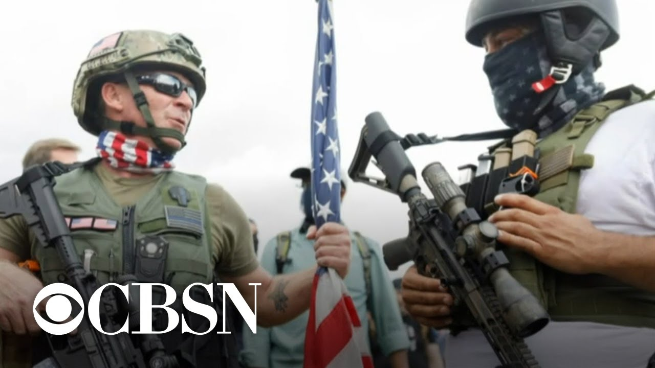 Do armed right-wing militia groups pose a threat to U.S. presidential election?