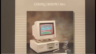 The Beautiful Compaq 386s Part 2 : Upgrade and Benchmarking