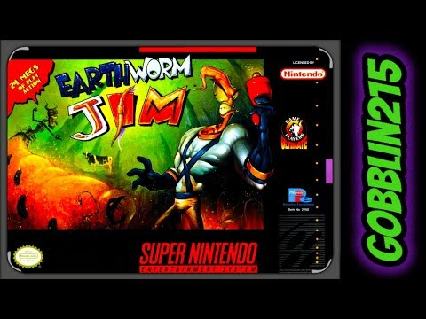 Let's Play Earthworm Jim - SNES - Live - Let's Play Earthworm Jim - SNES - Live