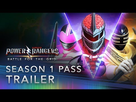 Power Rangers: Battle For The Grid - Season One Pass Trailer