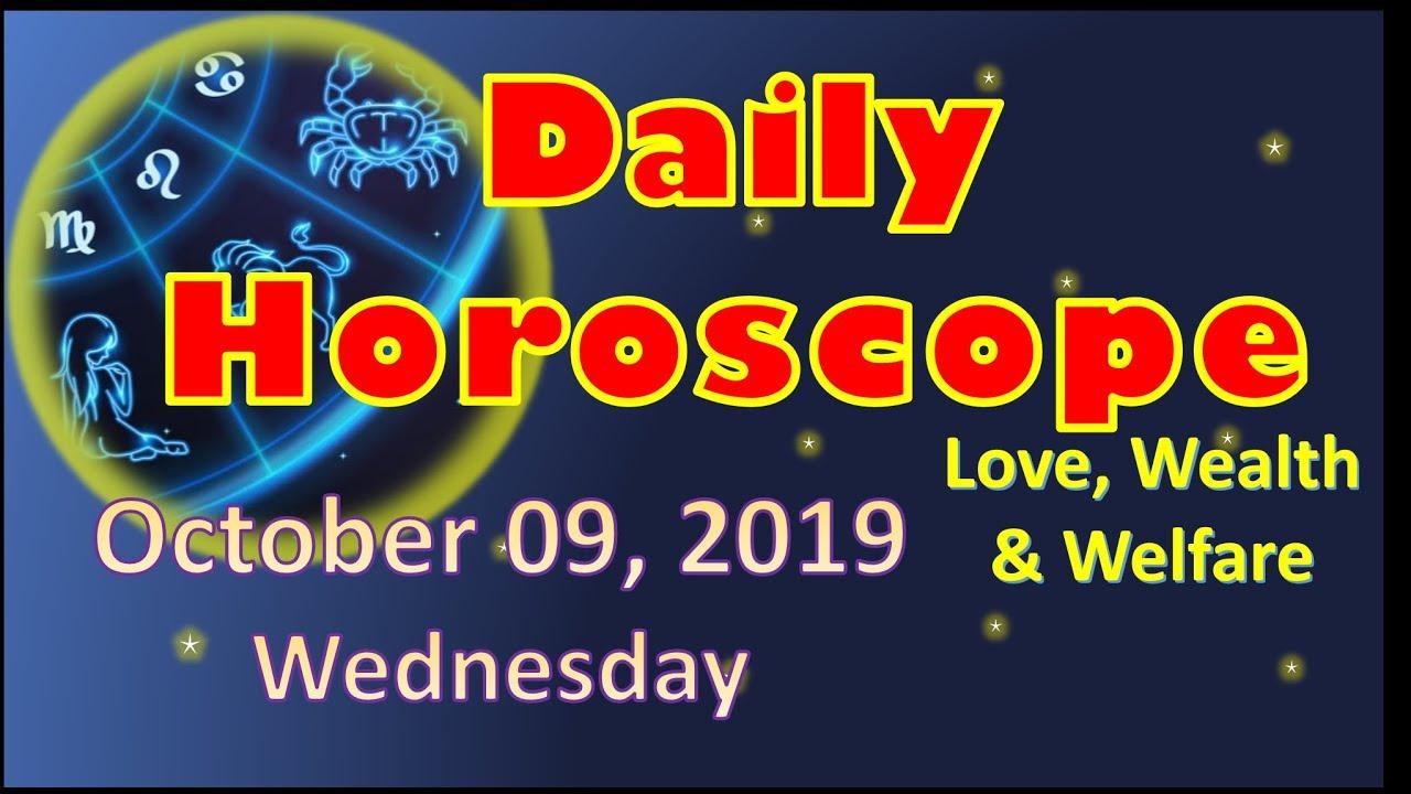 horoscope for wednesday october 24 2019