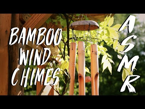 ASMR | Relaxing Bamboo Wind Chimes sounds