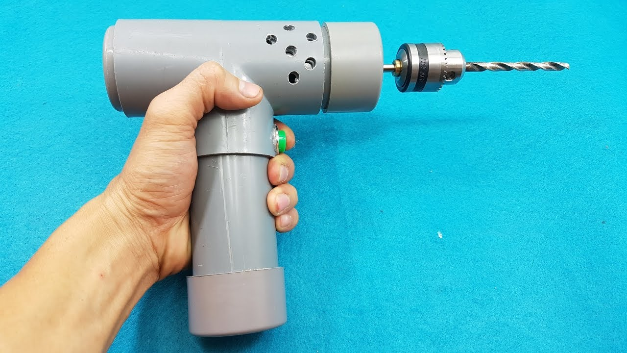 How to make a high speed drill machine using dc motor