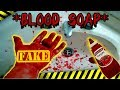 Diy Fake blood soap Halloween Pranks - HOW TO PRANK