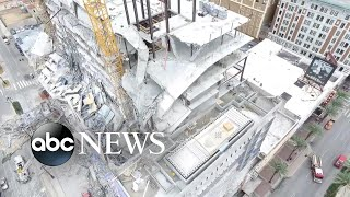 Urgent search for survivors in deadly building collapse